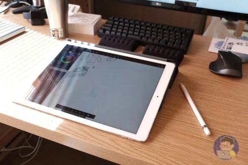 パームレストの新たな可能性。iPad Proをちょうどいい高さにしてくれる