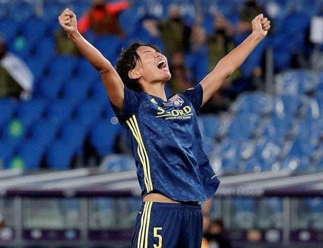 熊谷紗希、CL決勝でゴール!