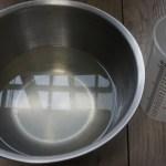 野菜のゆで汁を入れたら温度が39度まで上昇!庭の絹さやも240cmまでグングン上昇!