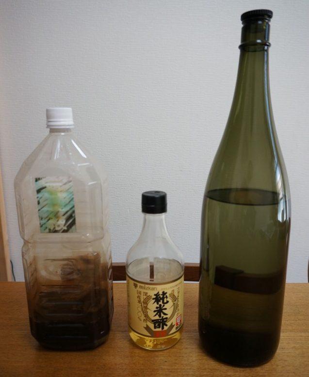 焼酎,酢,竹酢液