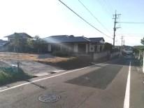 現地写真2018/10前面道路
