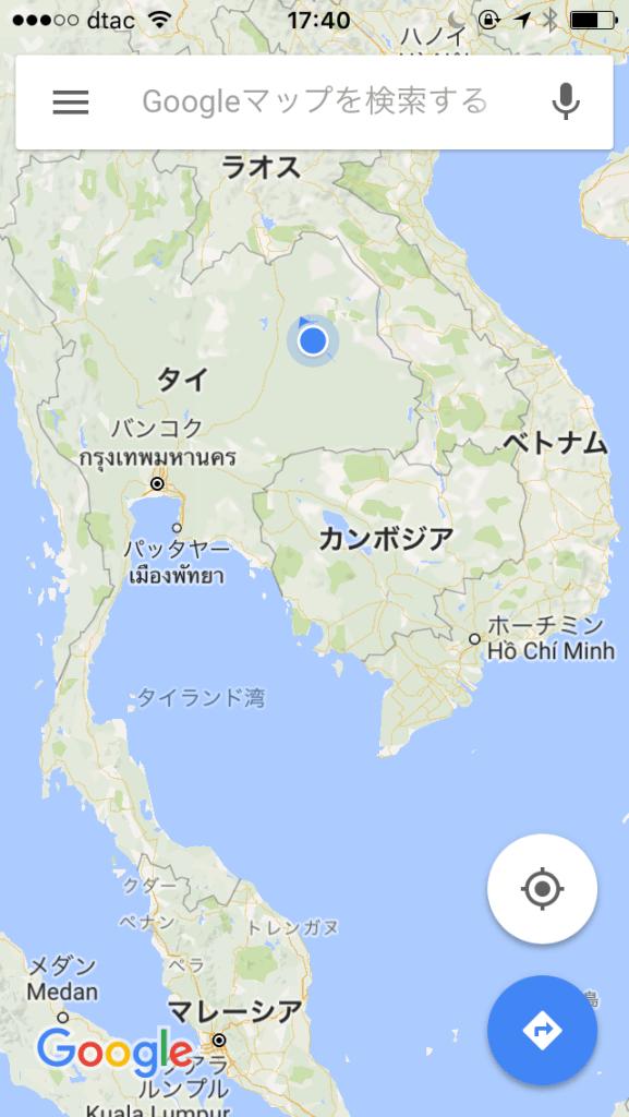 地図でみると結構内陸