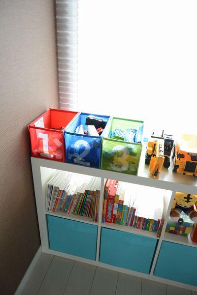 ikeaの収納家具を子供部屋に3