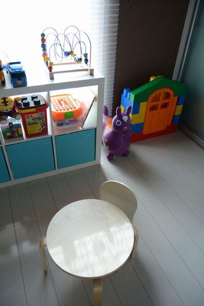 ikeaの収納家具を子供部屋に6