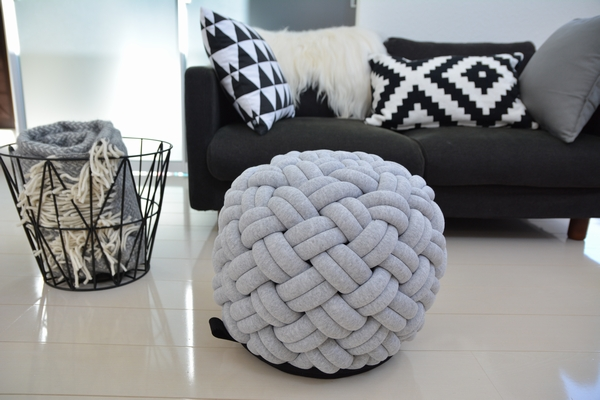 kumeko MINI-KNOTTY FLOOR CUSHION