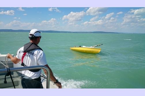 mentés 2. a vízből 2016.07.10