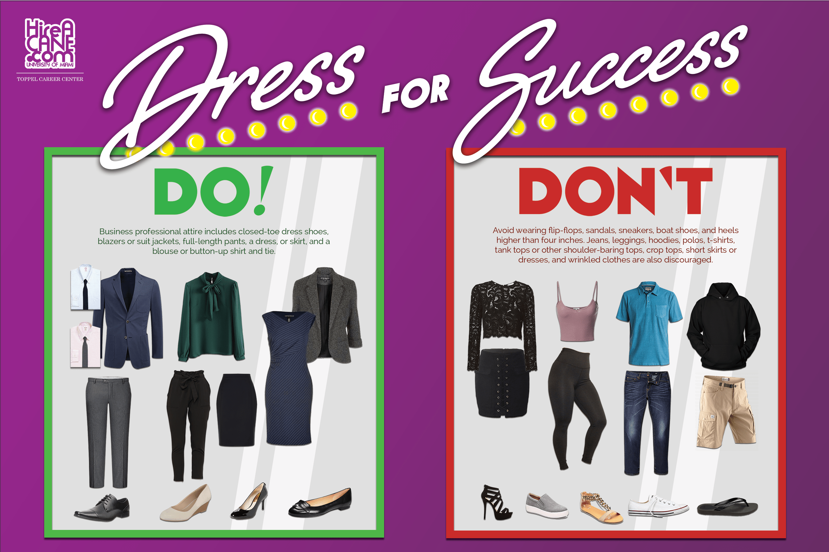 Dress For Success Toppel Career Center University Of Miami