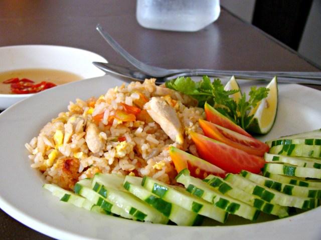 thai pad rice