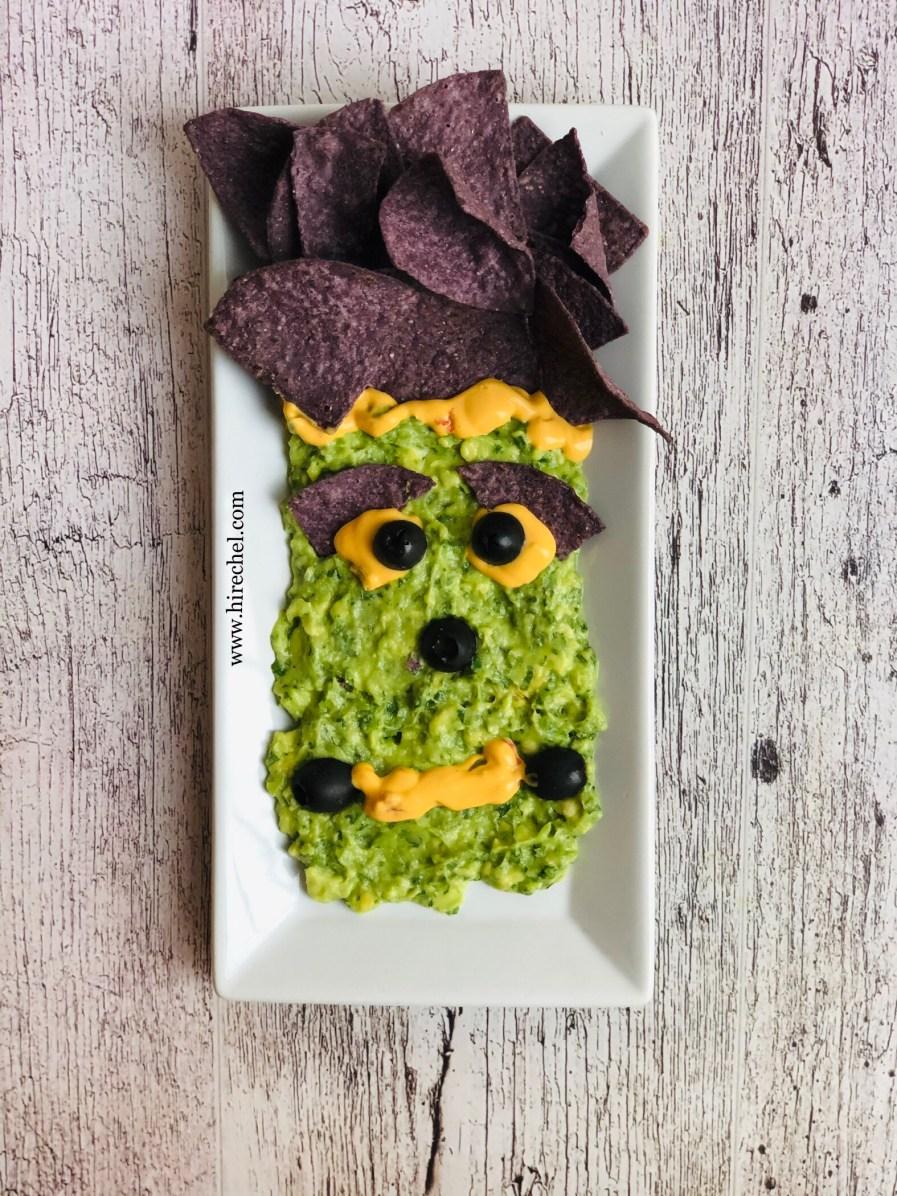 monster face snacks