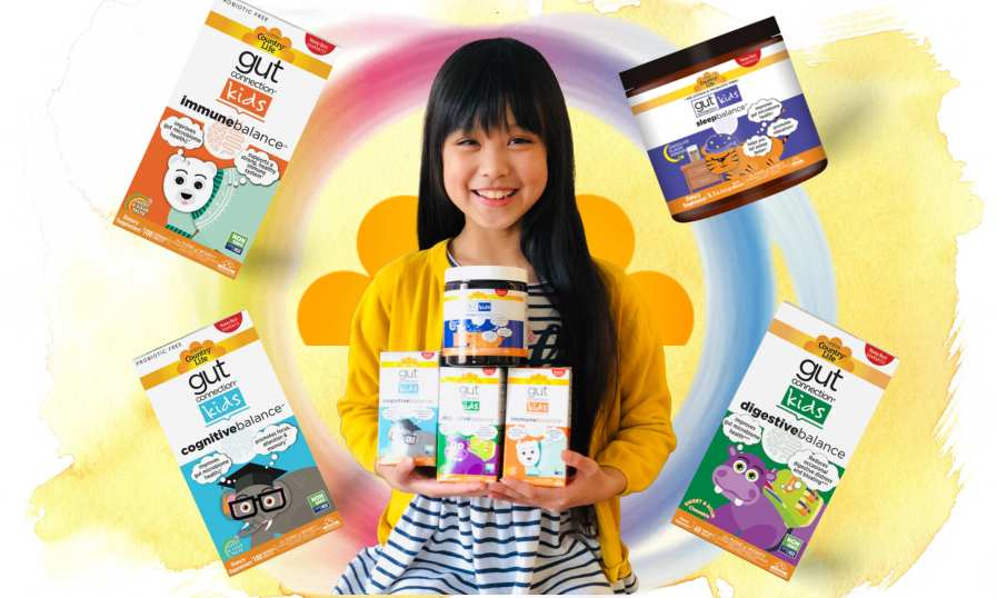 GOOD GUT HEALTH CONNECTION FROM COUNTRY LIFE   BOOST YOUR KID'S IMMUNITY!