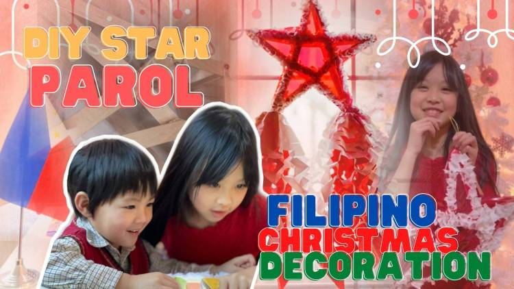 DIY STAR PAROL FILIPINO CHRISMAS TRADITION