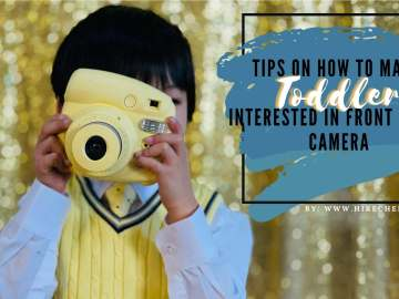 HOW TO GET TODDLERS TO LOOK AT THE CAMERA