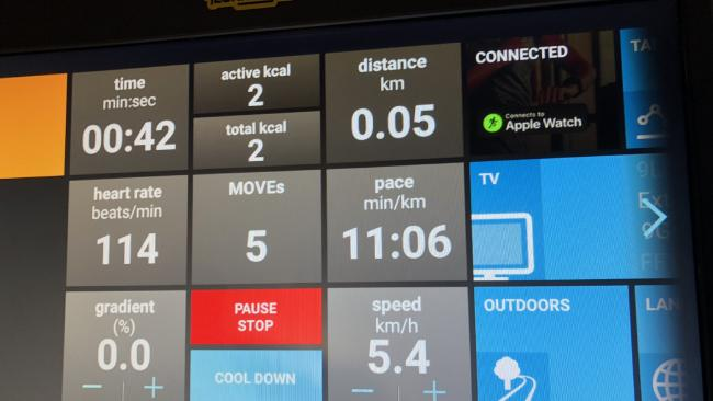 GymKit was first launched in Australia (click/tap image for a report)