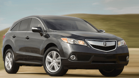 Sleek and sporty: 2013 Acura RDX, image supplied