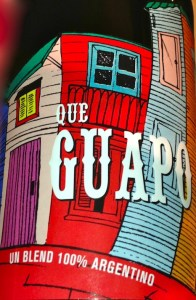 "Que Guapo - it means ""You're handsome!"""