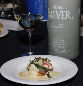 Third Place: Salmon House sockeye with Mer Soleil Silver