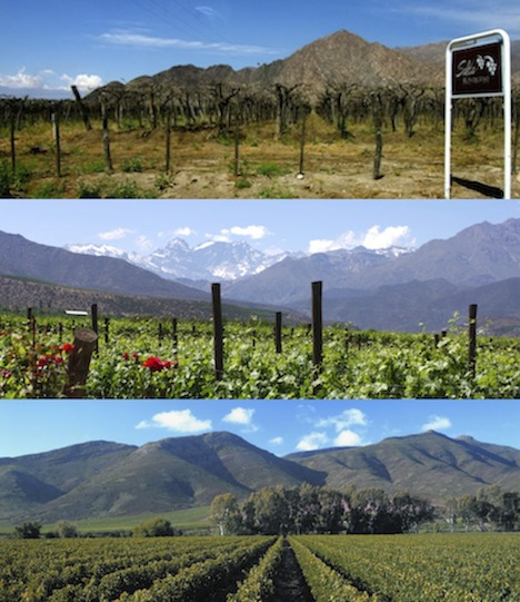 Salta, Aconcagua and Robertson are just a small part of the big, Beautiful South