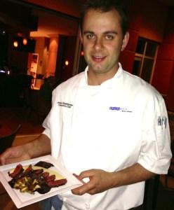 Watermark chef Jonas Stadtlander - a strong locally focused pedigree