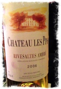 Deliciously made Rivesaltes.