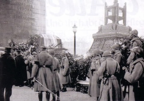 Burial of the Unknown Solider at l'Arc de Triomphe, Paris Digest