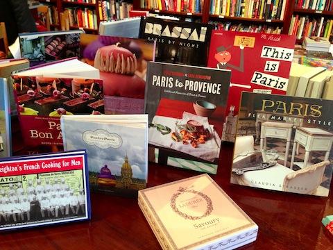 Books to Cooks Paris table