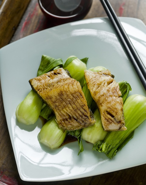 The lighter bodied Pinot Noir is a good match with dines such as sablefish and baby bok choy with sweet soy, rather than more tannic reds such as Cabernet Sauvignon - photo: John Sherlock