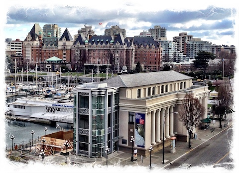Steamship Terminal on Victoria's Inner Harbour