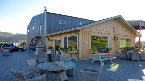 Harpers Trail newly opened tasting room, just east of Kamloops is already a happening place