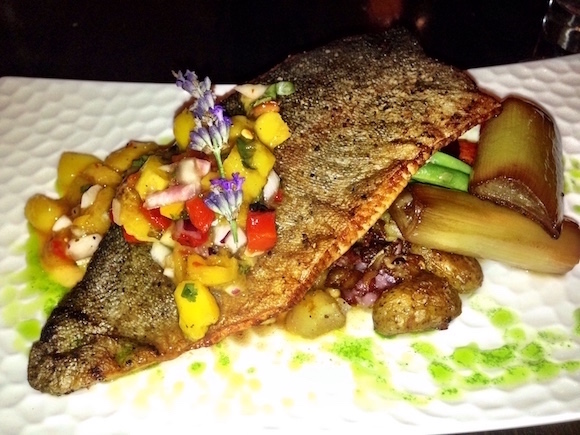Kamloops Brownstone serves trout from nearby Little Fort