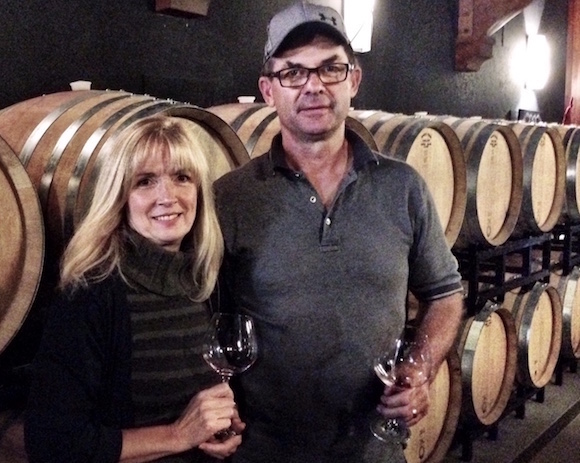 Privato owners John and Debbie Woodward in their Kamloops winery