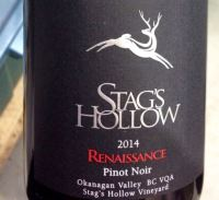 Stag's Hollow PN label