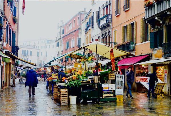 Venice street market
