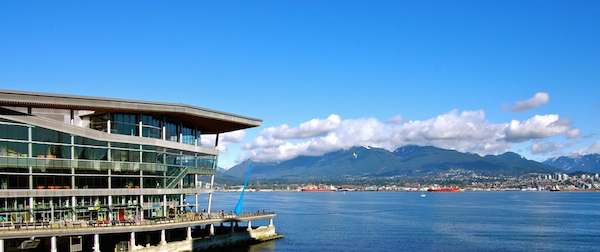Vintners Brunch takes place in Vancouver Convention Centre, overlooking the harbour and mountains
