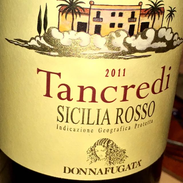New District Donnafugata Tancredit Sicilia Rosso