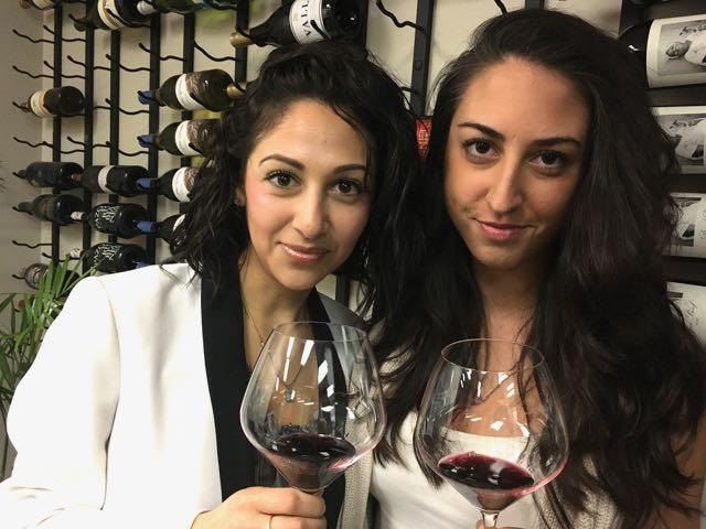 Amovino's Maris varas (left) and Jessica Luongo
