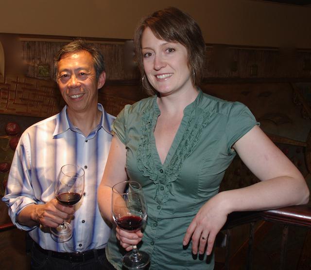 Howard Soon introduces Peller Estates winemaker Stephanie Leinemann (2011)