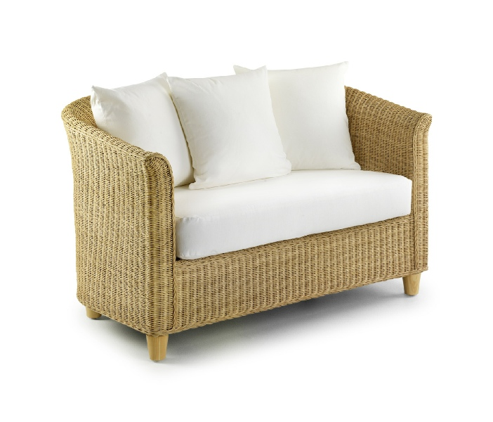 wicker sofa uk chesterfield leather rattan furniture hire cane chill out area