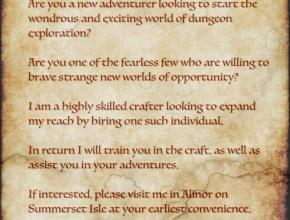 Hireling Wanted!
