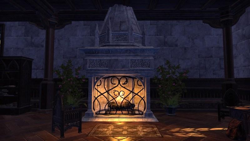 An Ornate Fireplace