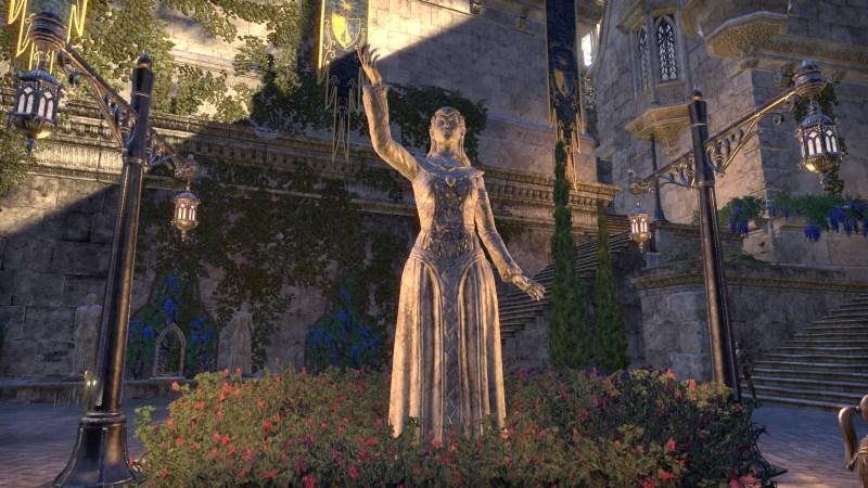 Statue in Lillandril