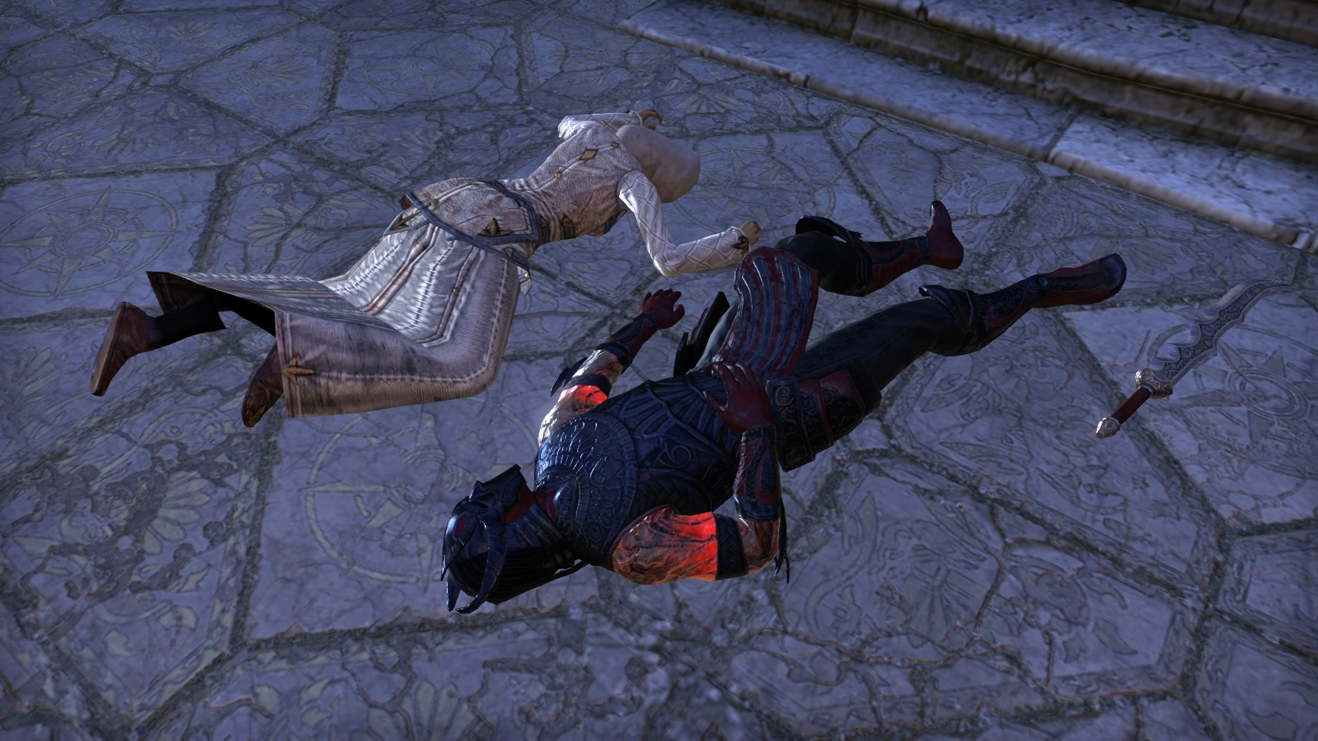 Daedra and Sapiarchs. Both dead.