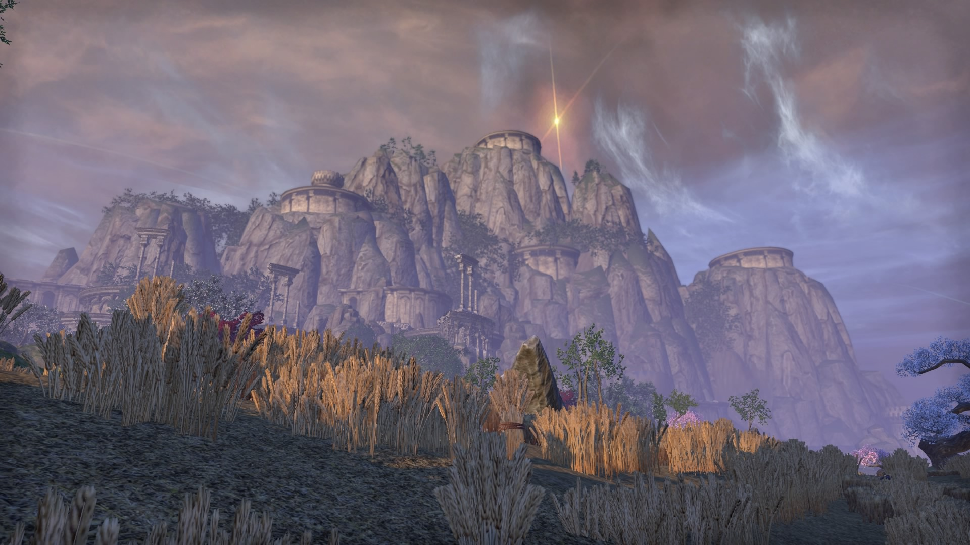 The view from outside the Ceporah tower