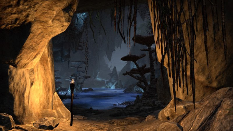 Inside the Eton Nir Grotto