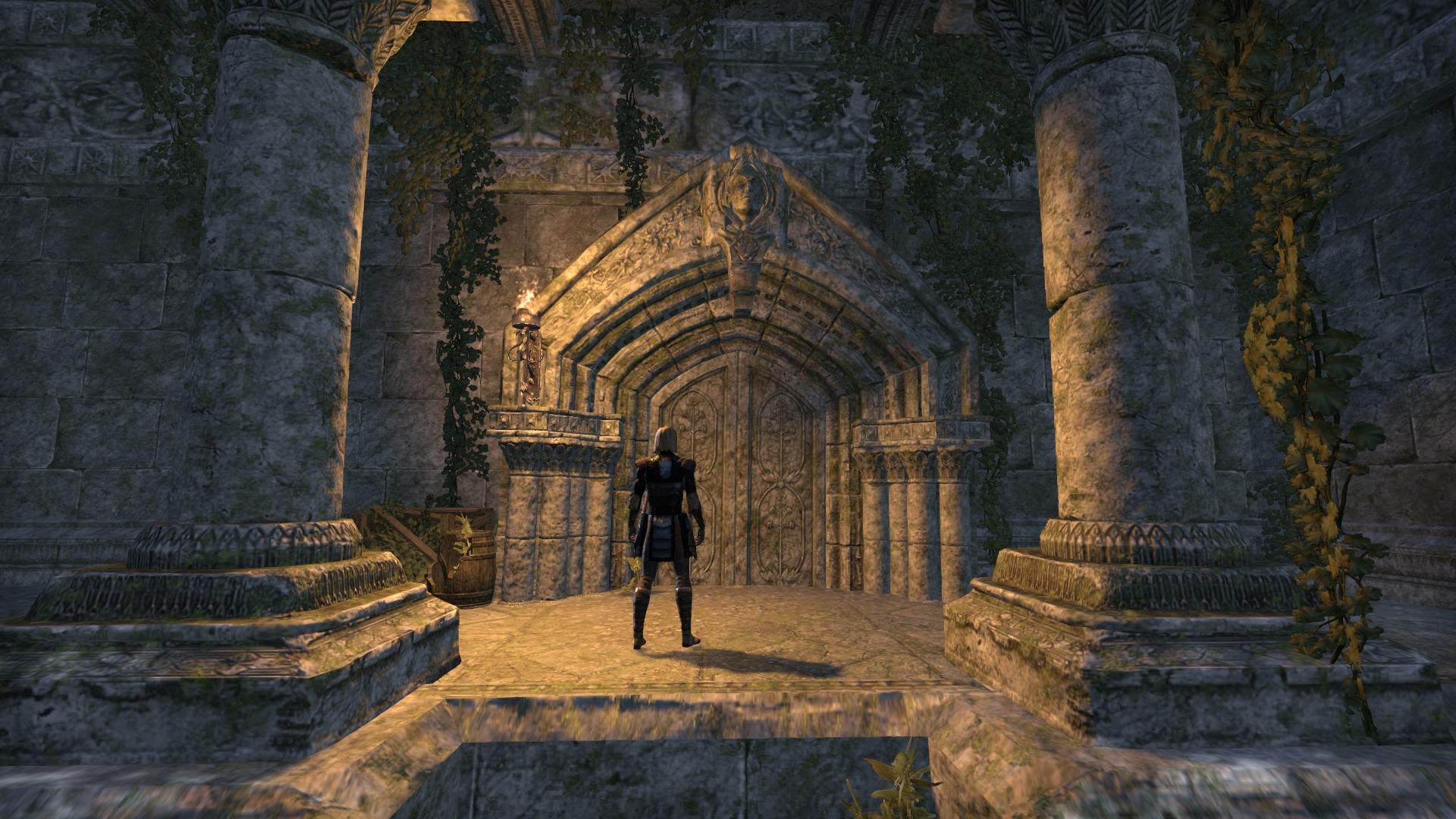 Entrance to the Ebon Sanctuary