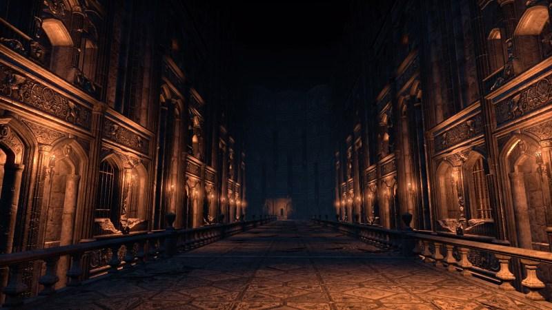 A magical hallway