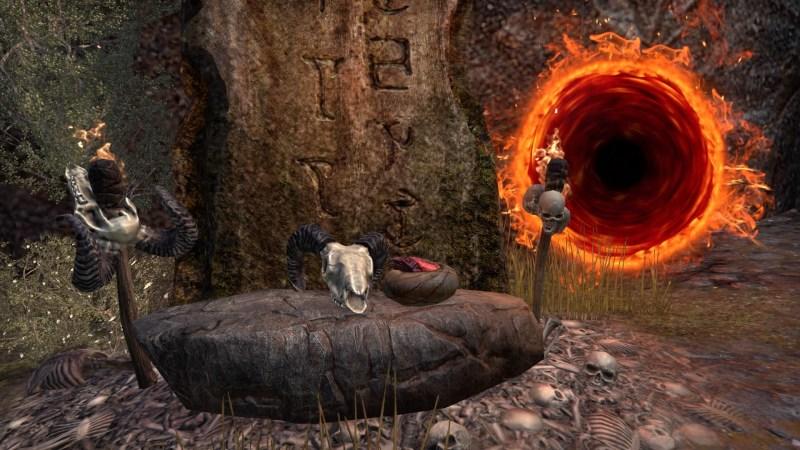 A Daedric Portal
