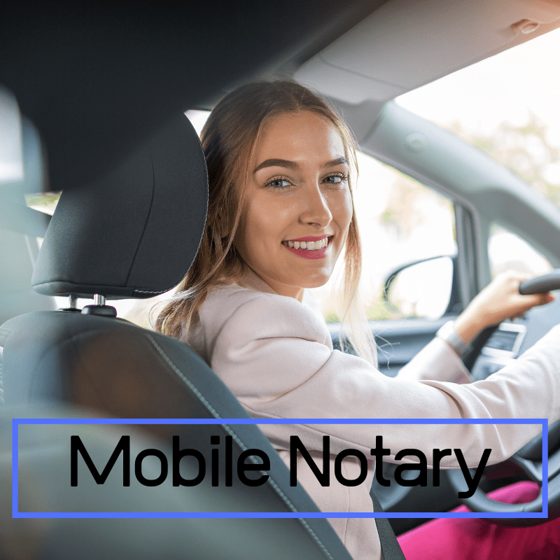Mobile Notary Service Boston MA