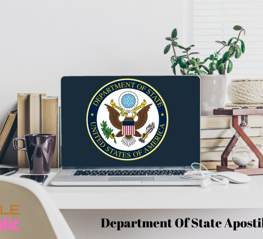 State Department Apostille