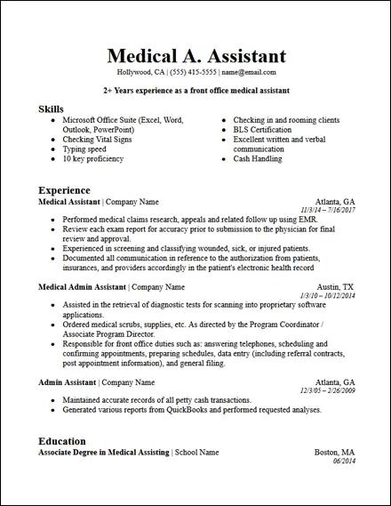 resume headline administrative assistant