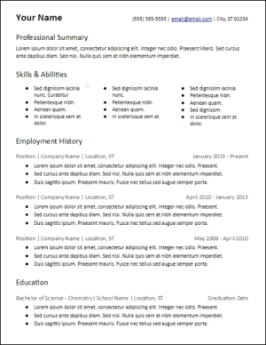 microsoft_word_3_column_skills_resume_template